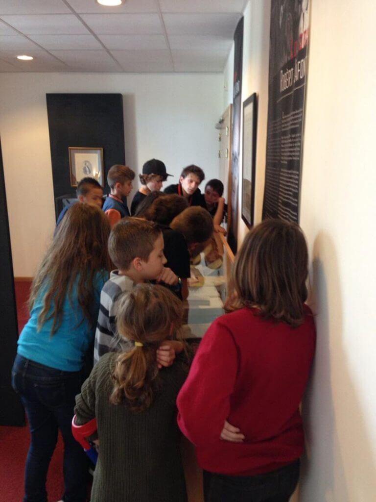 Visites et accueils scolaires au Cirdoc