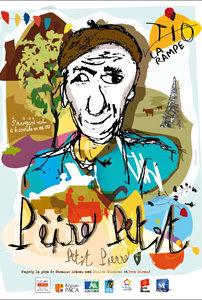 Affiche de la pièce d eThéâtre Pèire Petit