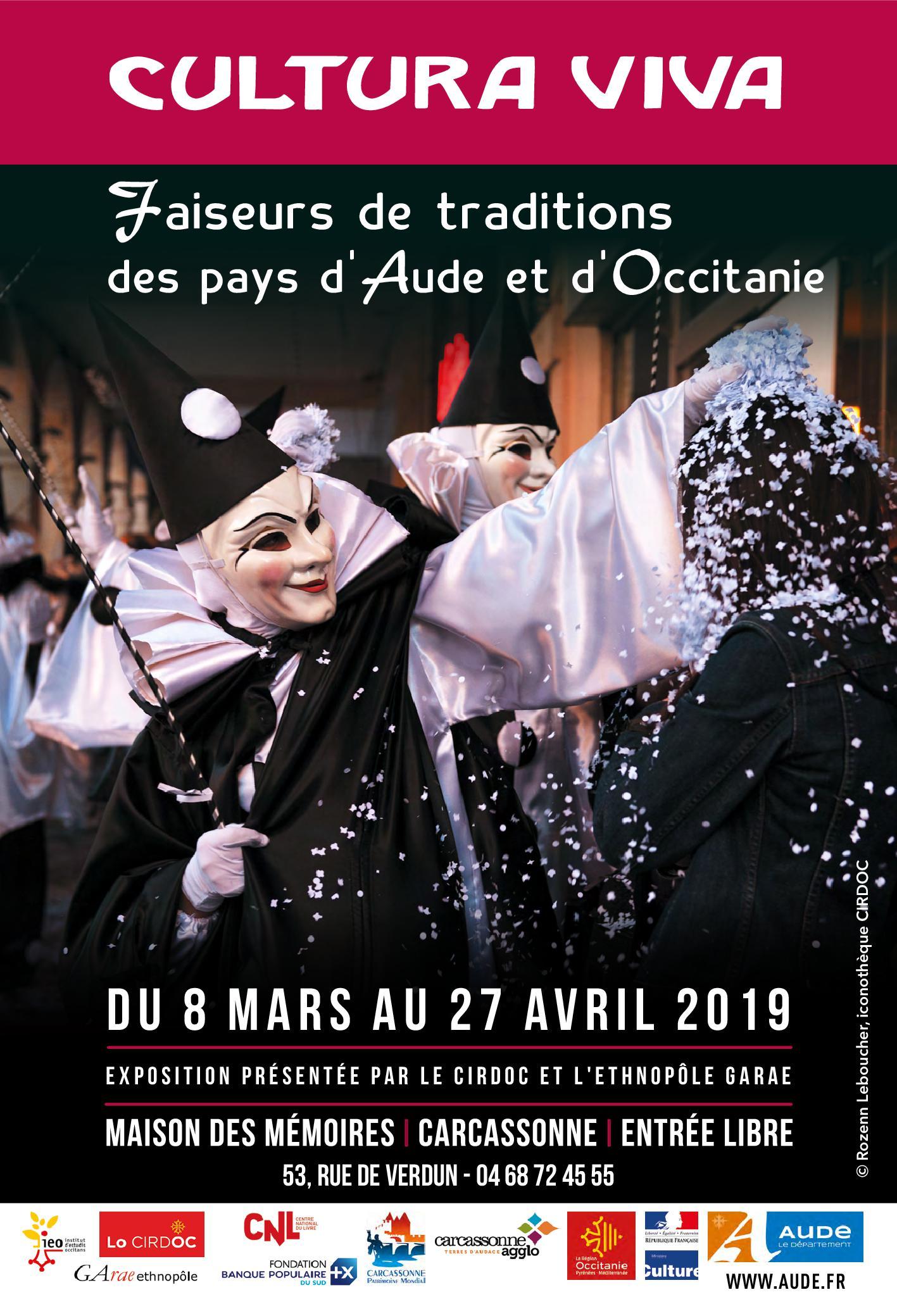L'exposition « Cultura Viva » à Carcassonne jusqu'au 27/04